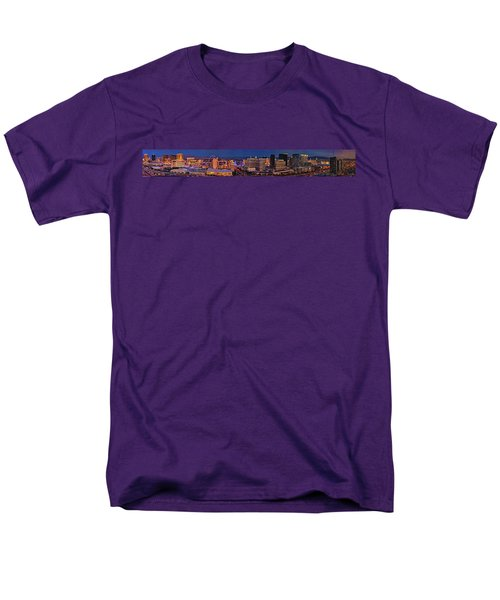 Men's T-Shirt  (Regular Fit) featuring the photograph Las Vegas Panoramic Aerial View by Susan Candelario