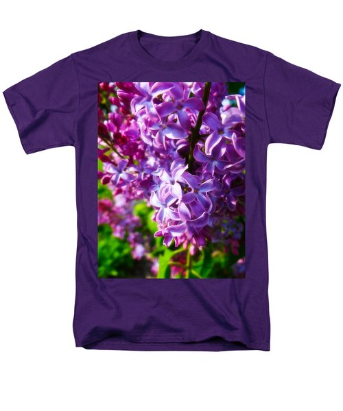 Lilac In The Sun Men's T-Shirt  (Regular Fit) by Julia Wilcox