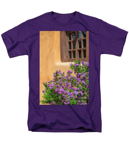 Lilacs And Adobe Men's T-Shirt  (Regular Fit) by Catherine Sherman