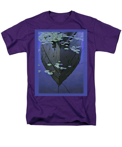 Lily Pads And Reflection Men's T-Shirt  (Regular Fit) by John Hansen