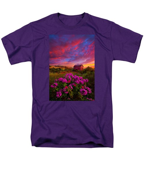 Live In The Moment Men's T-Shirt  (Regular Fit) by Phil Koch
