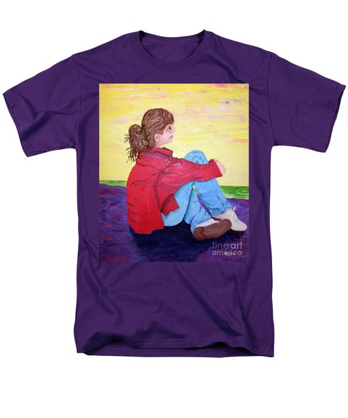 Looking For Hope Men's T-Shirt  (Regular Fit) by Lisa Rose Musselwhite