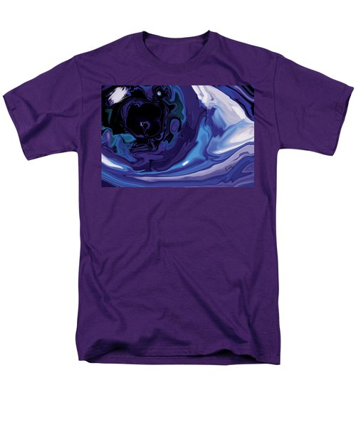 Men's T-Shirt  (Regular Fit) featuring the digital art Lost-in-to-the-eye by Rabi Khan