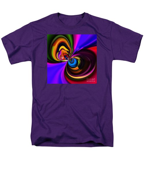 Magic Abstract Men's T-Shirt  (Regular Fit) by Elaine Hunter
