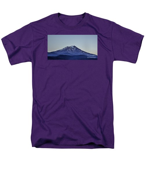 Majestic Mt Shasta Men's T-Shirt  (Regular Fit) by Nancy Marie Ricketts