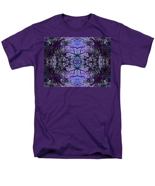 Men's T-Shirt  (Regular Fit) featuring the photograph Mesmerized By Blue by Joy Nichols