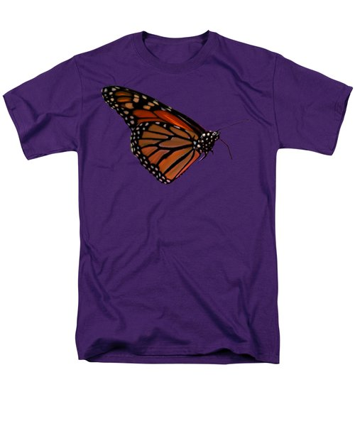 Monarch Butterfly No.41 Men's T-Shirt  (Regular Fit) by Mark Myhaver