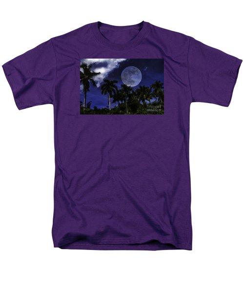 Moon Over Belize Men's T-Shirt  (Regular Fit)