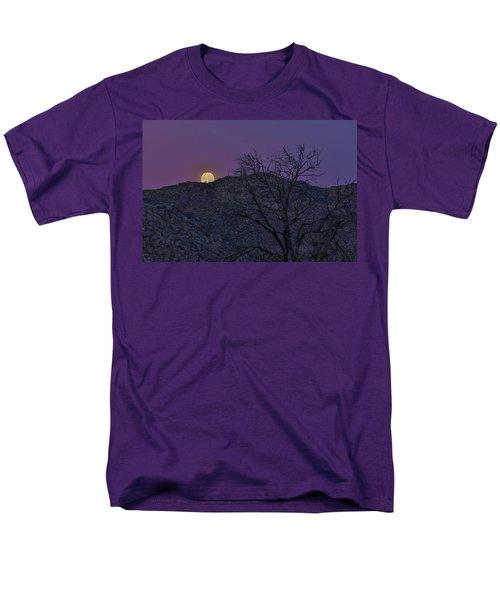 Moon Set At Sunrise Men's T-Shirt  (Regular Fit)