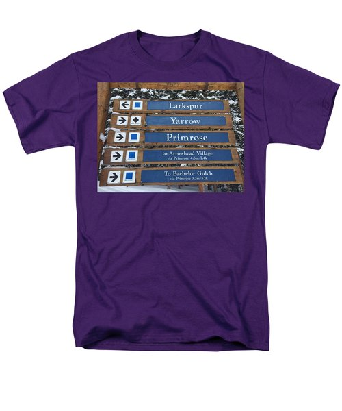 Most Go Right Men's T-Shirt  (Regular Fit) by Christin Brodie