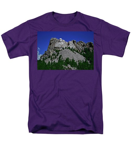Men's T-Shirt  (Regular Fit) featuring the photograph Mount Rushmore 001 by George Bostian
