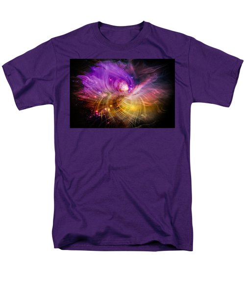 Men's T-Shirt  (Regular Fit) featuring the digital art Music From Heaven by Carolyn Marshall