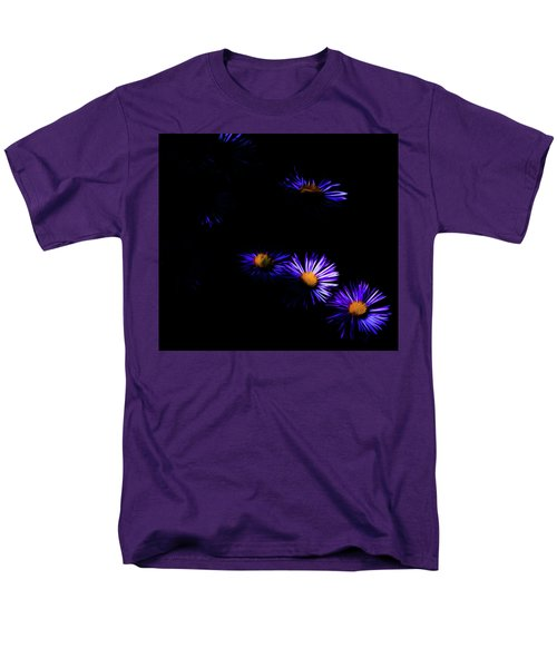 Men's T-Shirt  (Regular Fit) featuring the digital art Natural Fireworks by Timothy Hack