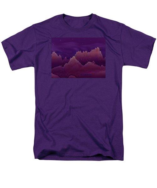 Night Men's T-Shirt  (Regular Fit) by Dr Loifer Vladimir