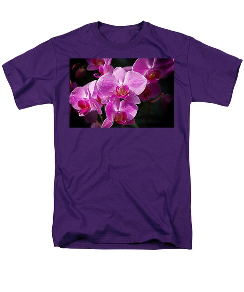 Orchids 4 Men's T-Shirt  (Regular Fit) by Karen McKenzie McAdoo