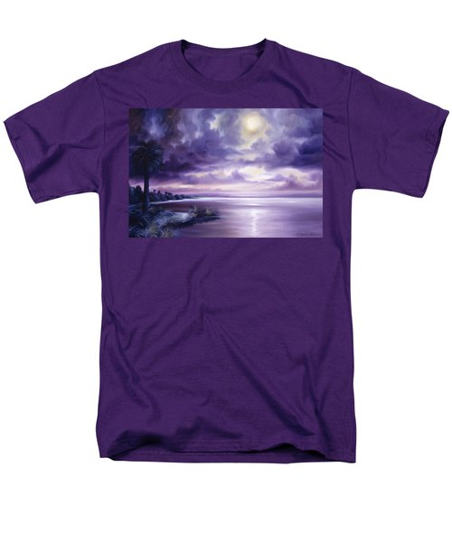 Palmetto Moonscape Men's T-Shirt  (Regular Fit) by James Christopher Hill