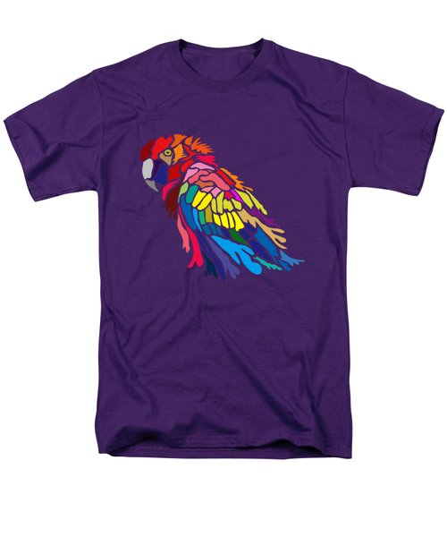 Parrot Beauty Men's T-Shirt  (Regular Fit) by Anthony Mwangi