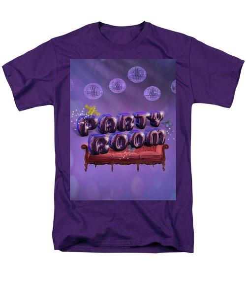 Party Room Men's T-Shirt  (Regular Fit) by La Reve Design