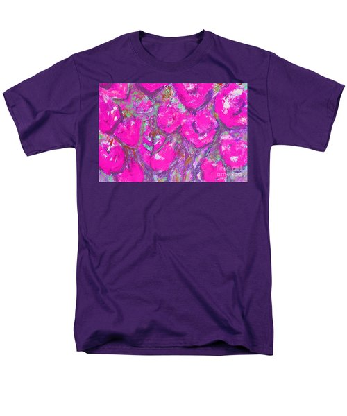 Pink Poppies Men's T-Shirt  (Regular Fit) by Gallery Messina