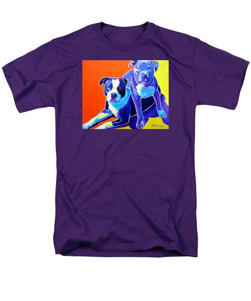 Pit Bulls - Diamond And Deisel Men's T-Shirt  (Regular Fit)