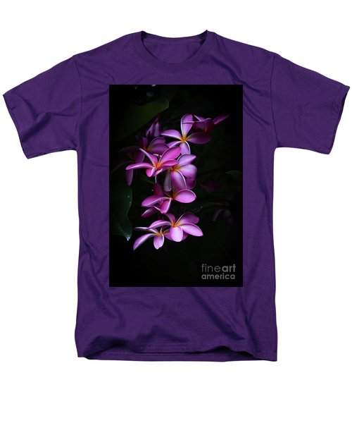 Men's T-Shirt  (Regular Fit) featuring the photograph Plumeria Light by Kelly Wade