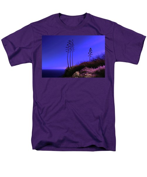 Men's T-Shirt  (Regular Fit) featuring the photograph Point Fermin In Infrared by Randall Nyhof