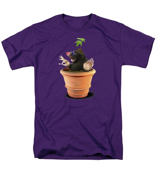 Men's T-Shirt  (Regular Fit) featuring the drawing Pot Colour by Rob Snow
