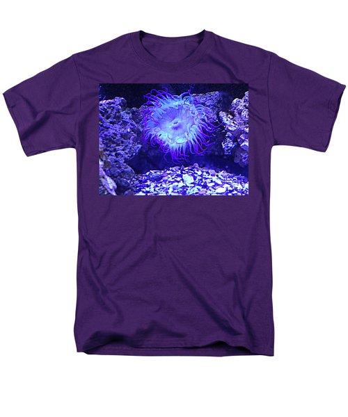 Predatory Terrestrial Sea Anemone Men's T-Shirt  (Regular Fit) by Richard W Linford