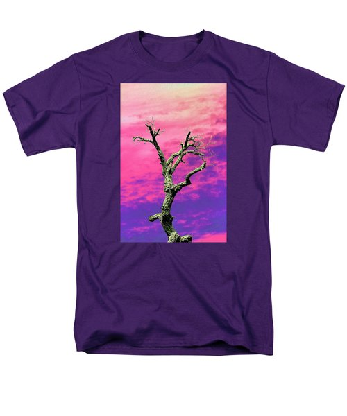 Psychedelic Tree Men's T-Shirt  (Regular Fit) by Richard Patmore
