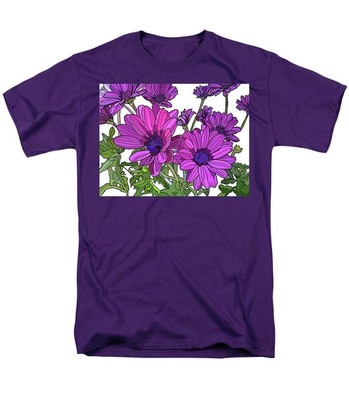 Purple Days Men's T-Shirt  (Regular Fit) by Jamie Downs