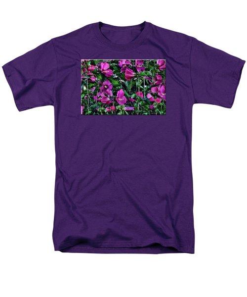 Purple Flowers Men's T-Shirt  (Regular Fit)