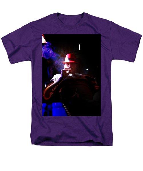 Purple Haze Boss  Men's T-Shirt  (Regular Fit) by John Jr Gholson