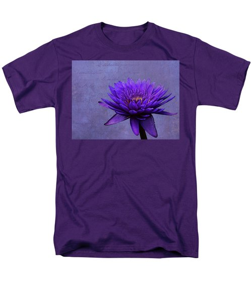 Men's T-Shirt  (Regular Fit) featuring the photograph Purple Passion by Judy Vincent