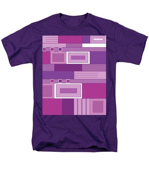 Purple Time Men's T-Shirt  (Regular Fit) by Tara Hutton