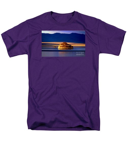 Men's T-Shirt  (Regular Fit) featuring the photograph Pyramid Lake Nevada by Irina Hays