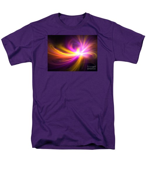 Quasi-stellar Men's T-Shirt  (Regular Fit) by Kim Sy Ok