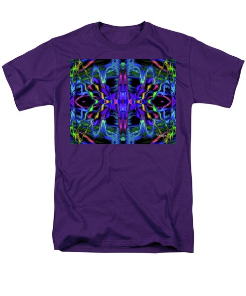 Rings Of Fire Dopamine #156 Men's T-Shirt  (Regular Fit) by Barbara Tristan