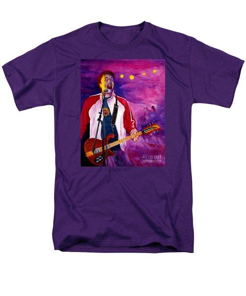 Rock On Tom Men's T-Shirt  (Regular Fit) by Nancy Cupp