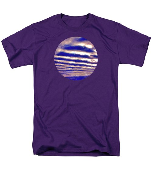 Rows Of Clouds Men's T-Shirt  (Regular Fit) by Phil Perkins