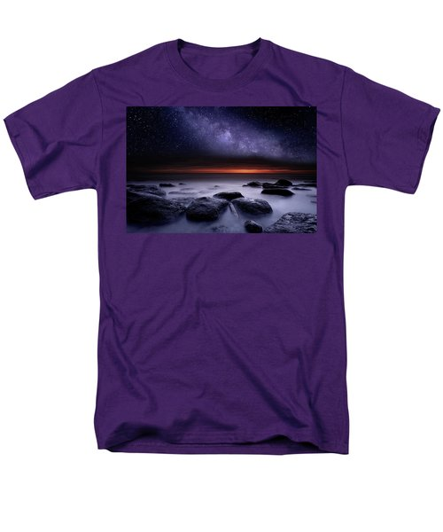 Men's T-Shirt  (Regular Fit) featuring the photograph Search Of Meaning by Jorge Maia