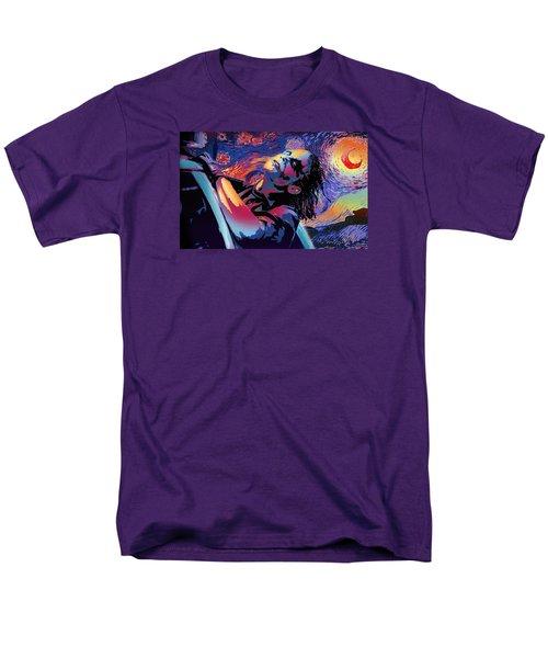 Serene Starry Night Men's T-Shirt  (Regular Fit) by Surj LA