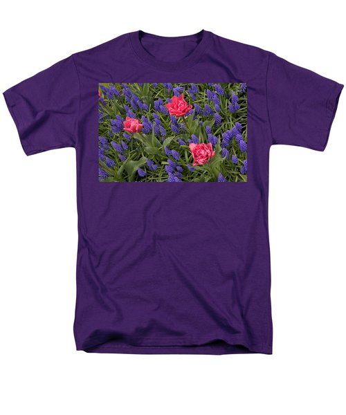 Spring Blooms Men's T-Shirt  (Regular Fit) by Phyllis Peterson