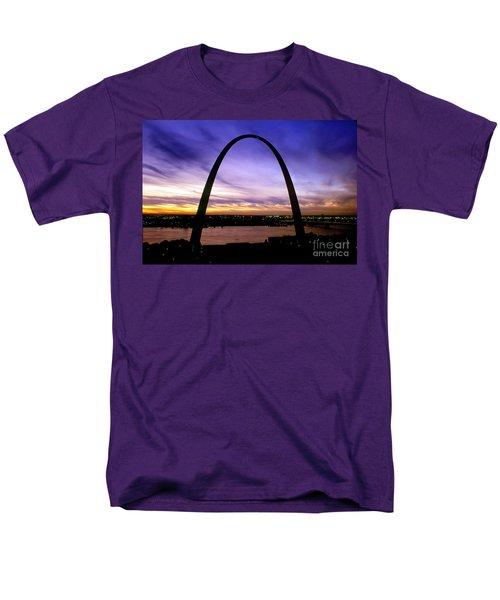 St. Louis, Missouri Men's T-Shirt  (Regular Fit) by Wernher Krutein