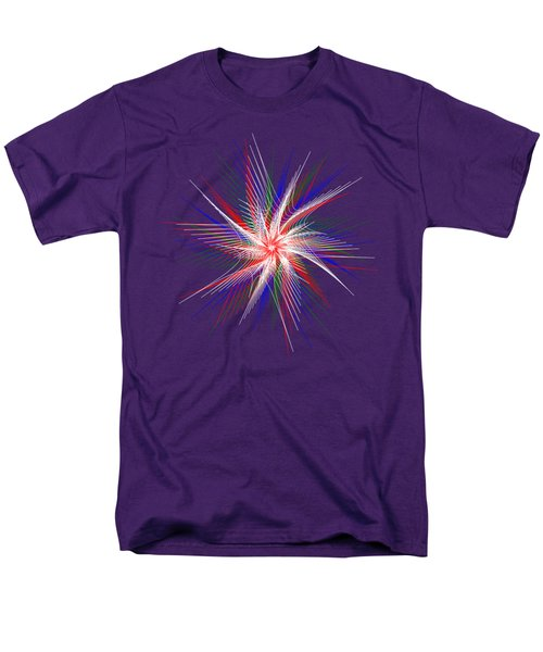 Men's T-Shirt  (Regular Fit) featuring the digital art Star In Motion By Kaye Menner by Kaye Menner