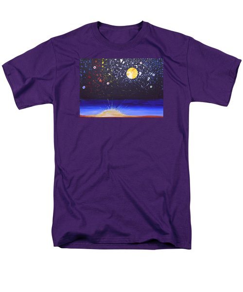Sun Moon And Stars Men's T-Shirt  (Regular Fit) by Donna Blossom
