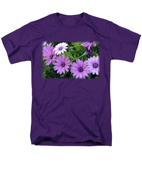 The African Daisy T-shirt 4 Men's T-Shirt  (Regular Fit) by Isam Awad