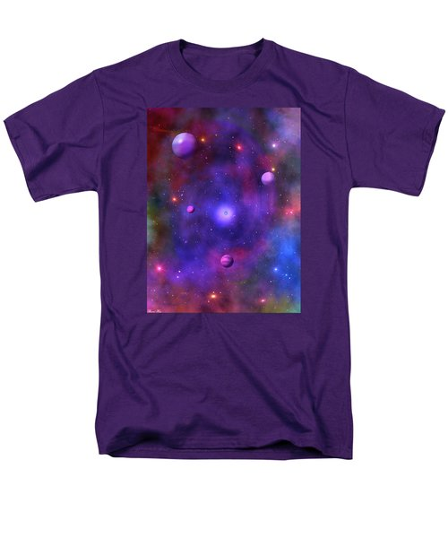 Men's T-Shirt  (Regular Fit) featuring the digital art The Great Unknown by Bernd Hau