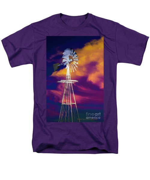 The Old Windmill  Men's T-Shirt  (Regular Fit) by Toma Caul