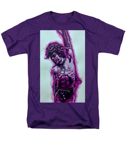 The Purple Prince   Men's T-Shirt  (Regular Fit) by Darryl Matthews