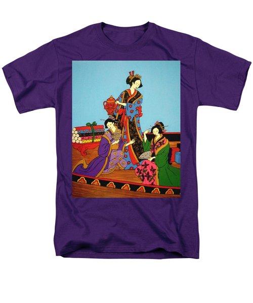 Three Geishas Men's T-Shirt  (Regular Fit)